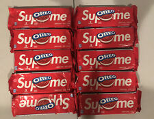 Brand New Supreme x Oreo Cookies 10 Packs of 3, Ready to Ship!