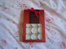 Twelve Apple & Cinnamon scented tea light candles