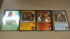 WWE Raw Deal LEADER OF THE EDGE ARMY 4 card Starter Set