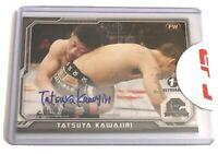 2014 Topps UFC Champions Tatsuya Kawajiri Fighter Autograph Card 1st Auto