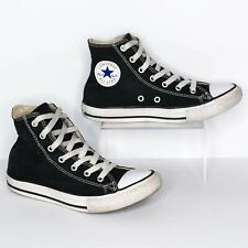 Converse All Star Youth Boys Girls High Tops Chuck Taylor Black White Size 3  AR