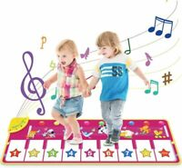 Vimzone Piano Dance Mat, Baby Musical Carpet Mat Touch Play Keyboard...