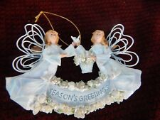 Roman Double Angels Accents with Dove /74133/ Ornament/Christmas/free shipping