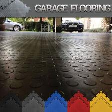 Garage Floor Interlocking Vinyl PVC Tiles Heavy Duty Garage Flooring