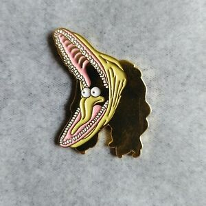 Beetlejuice Enamel Pin Badge Barbara Maitland Mask Horror Film Brooch Tim Burton