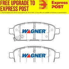 Wagner Brake Pad Set Rear DB1990WB fits Holden Cruze 1.8 i,2.0 DTFi