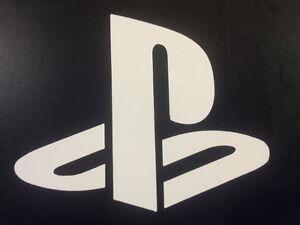 Sony Playstation Logo Vinyl Sticker - Play Station Vita PSX Console PS Game