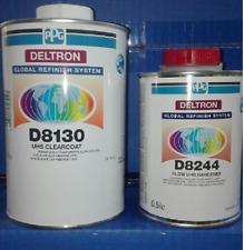 TRASPARENTE lucido antigraffio  vernice  2:1 1000ml + cat - PPG DELTRON D8130