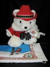 Dayton Hudson Marshall Fields Plush Santa Bear Conservation Corp 1995 Mint Cond!