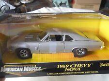 Ertl American Muscle 1969 Chevy Nova 1:18 Diecast New