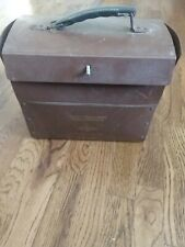 New listing Brown and Williamson Tobacco Corporation Brown Plastic Salesman Carry Case