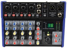 More details for mixing desk by citronic csd-6 compact mixers with bt and dsp effects.6 channels