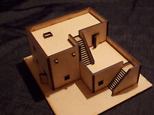 15MM  DESERT OUTPOST EASY BUILD KIT WOULD SUIT FLAMES OF WAR