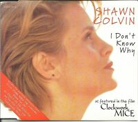 SHAWN COLVIN I don't Know why 2 LIVE & RARE CD single SEALED USA SELER BOB DYLAN