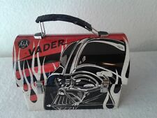 Star Wars Workmans Carry All Tin Tote Lunchbox Vader Unused 2015