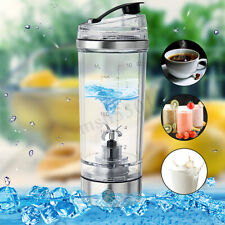 US 250ML Portable Electric Protein Shaker Blender Mixer USB Charging Bottle Cup