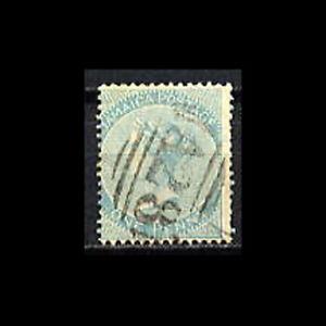Jamaica, Sc #1, USED, 1860, Scarce Cancel, WNK 45, Queen Victoria, A5-A