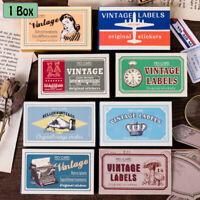 Zeitschrift Scrapbooking Retro Matchbox Papier Sticker Klassische Stamp Sticker