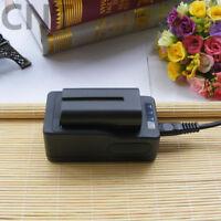 2 Battery for Sony NP-F550 NP-F330 NP-F750 NP-F960 F970 F770 / Rapid Charger