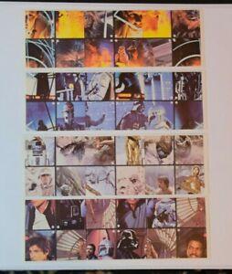 1981 Star Wars: Empire Strikes Back. Burger King Promotional Sticker. Mint