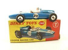 Dinky Toys F n° 240 Cooper Racing car F1 en boite