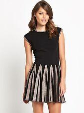 New Ted Baker Aleece Full Skirt Knitted Dress Size 4