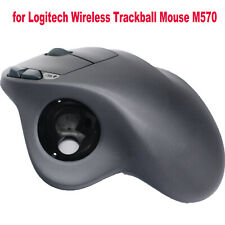 Mouse Cover Top Shell Bottom Case Set for Logitech Wireless Trackball Mouse M570