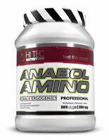 Hi-Tec Anabol Amino Pro 200 Caps Amino Acids BCAA + Vitamin B6,B12 + L-Alanine