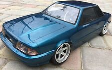 1/10 RC Car Body Shell FORD MUSTANG FOX Body NOTCH BACK  200MM w/ Light Buckets