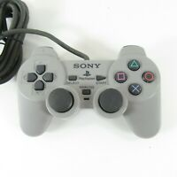 Sony PlayStation One PS1 SCPH-1200 Analog Controller Gray OEM - Tested