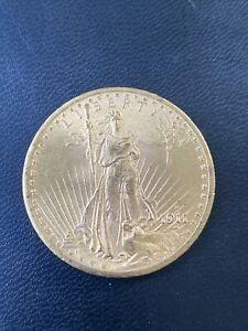 1911-S Saint St. Gaudens $20 Gold Double Eagle