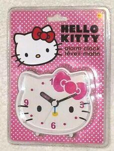 Hello Kitty Alarm Clock Quartz Accuracy 8+ NIB