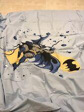 Batman Dc Comics Pottery Barn kids Cityscapes Full Duvet Cover Euc Discontinued