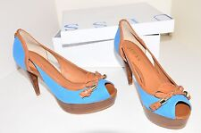 GUESS ELANA2/SPUNTATO SANDALS HEELS SIZE UK 3.5 EU 36 AUTHENTIC NEW IN BOX