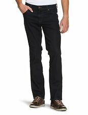 Wrangler Men's Texas Stretch Blue Black Jeans 36w X 36l
