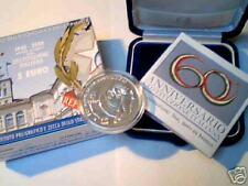 5 euro Italia 2008 argento FDC 60° Costituzione Italie