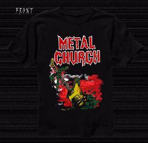 METAL CHURCH - American metal band,T_shirt-SIZES:S to 6XL