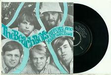 """the BEACH BOYS - Heroes and Villains (1967 DUTCH PS VINYL SINGLE 7"""")"""