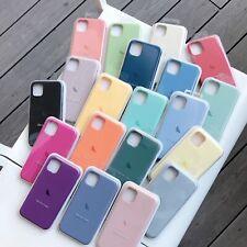 Original Silicone/Leather Case For iPhone 12 Mini 11 Pro Max Genuine OEM Cover