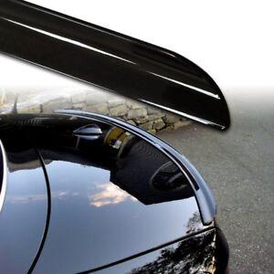 Fyralip Y22 Painted Black Trunk lip Spoiler For Mazda MX-5 NC Roadster 05-15