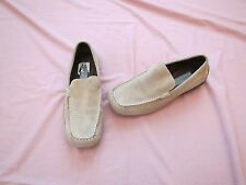 KENNETH COLE men's shoes ,Reaction, tan, suede,size 9,5. Rubber sole loafer