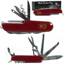 Swiss Army Knife - Red 13 Multi Function Knife by Whetstone with Gift Box