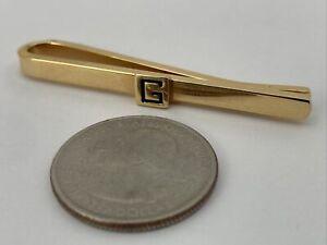 """Vintage Gentleman """" Givenchy """"Paris Designer Tie Clip / Clasp With logo 👀"""