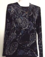 Chico's Long Sleeve Jacket and Matching Sleeveless Top - Size 0