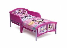 Plastic Toddler Bed, Disney Minnie Mouse