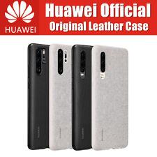 Official Original HUAWEI P30/P30 Pro Case Full Cover Microfiber Fiber Leather