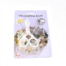 2Pcs/Set Cake Decor Tool Flower Stand Nail Scissor Cream Flower Baking Mold POP