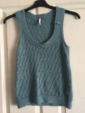 White Stuff Sleeveless Jumper/ fine knit vest - UK8 EUR36 - Cashmere & Angora
