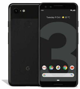 Google Pixel 3 64GB - Unlocked Sim Free - Black - Grade B+ Cosmetic Condition
