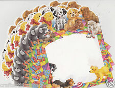 Sandylion  VeRy RaRe  *CUTE PUPPIES* Stationery Paper. **10 Sheets**